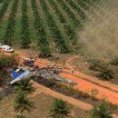 El avión DC-3, de matrícula 2494, colisionó en una finca de San Martín (Meta). Piloto había manifestado fallas en el motor izquierdo. Foto: AFP